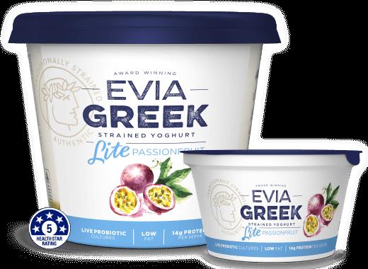Evia Yoghurt Lite Passionfruit