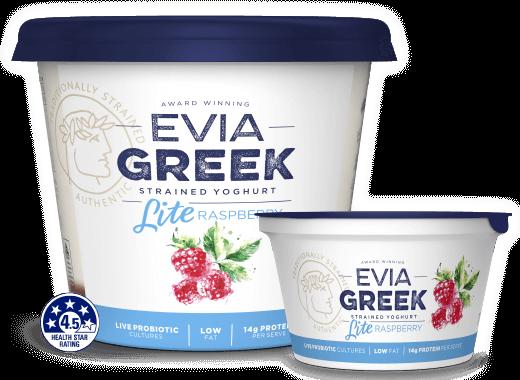 Evia Yoghurt Lite Raspberry