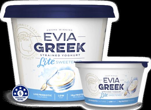 Evia Yoghurt Lite Sweetened