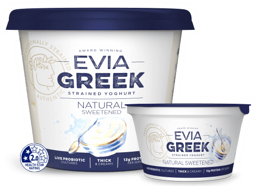 Evia Yoghurt Natural Sweetened